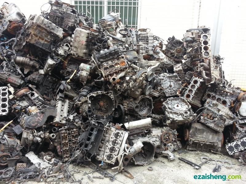大量收购报废汽车发动机