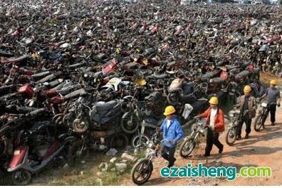 求购报废摩托车,长期