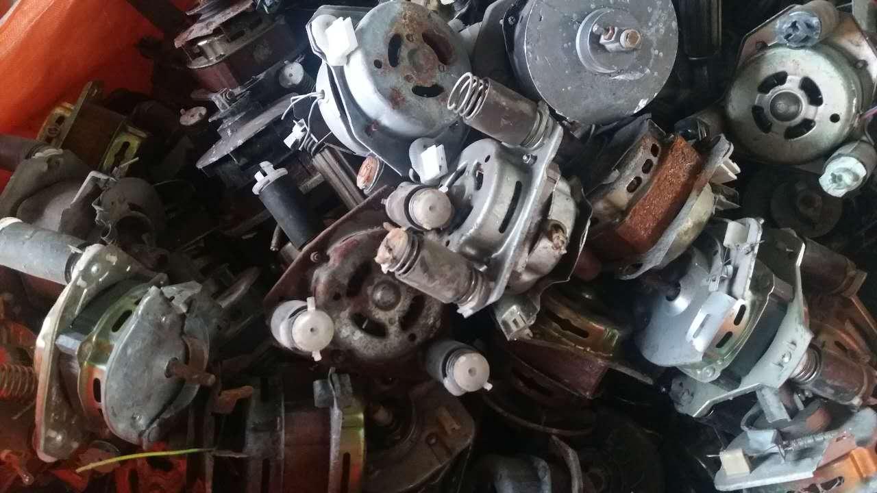 旧洗衣机铜电机