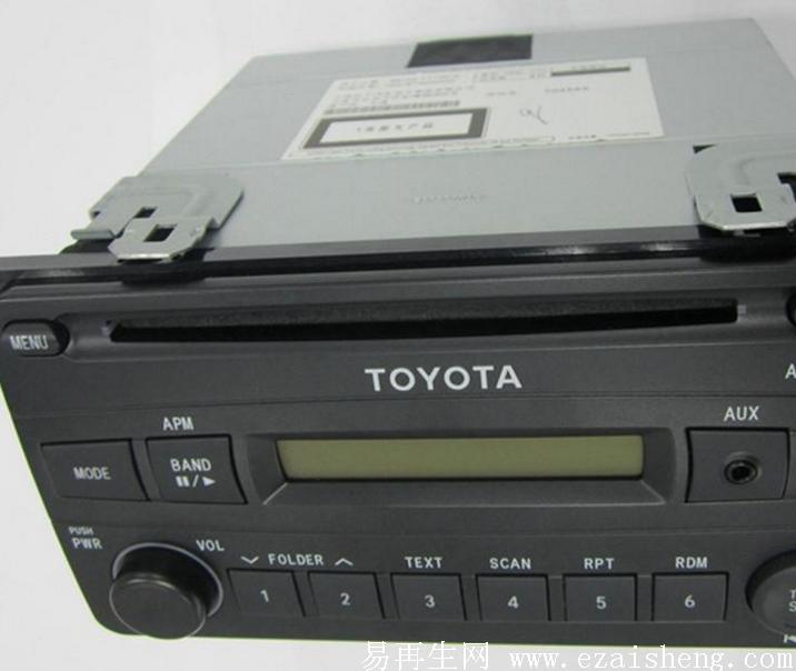 轿车 丰田 花冠 原厂cd机