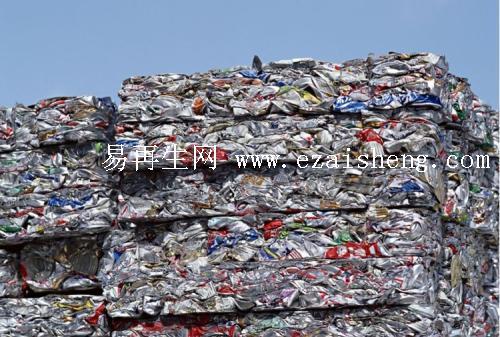 大量回收废塑料压扎料