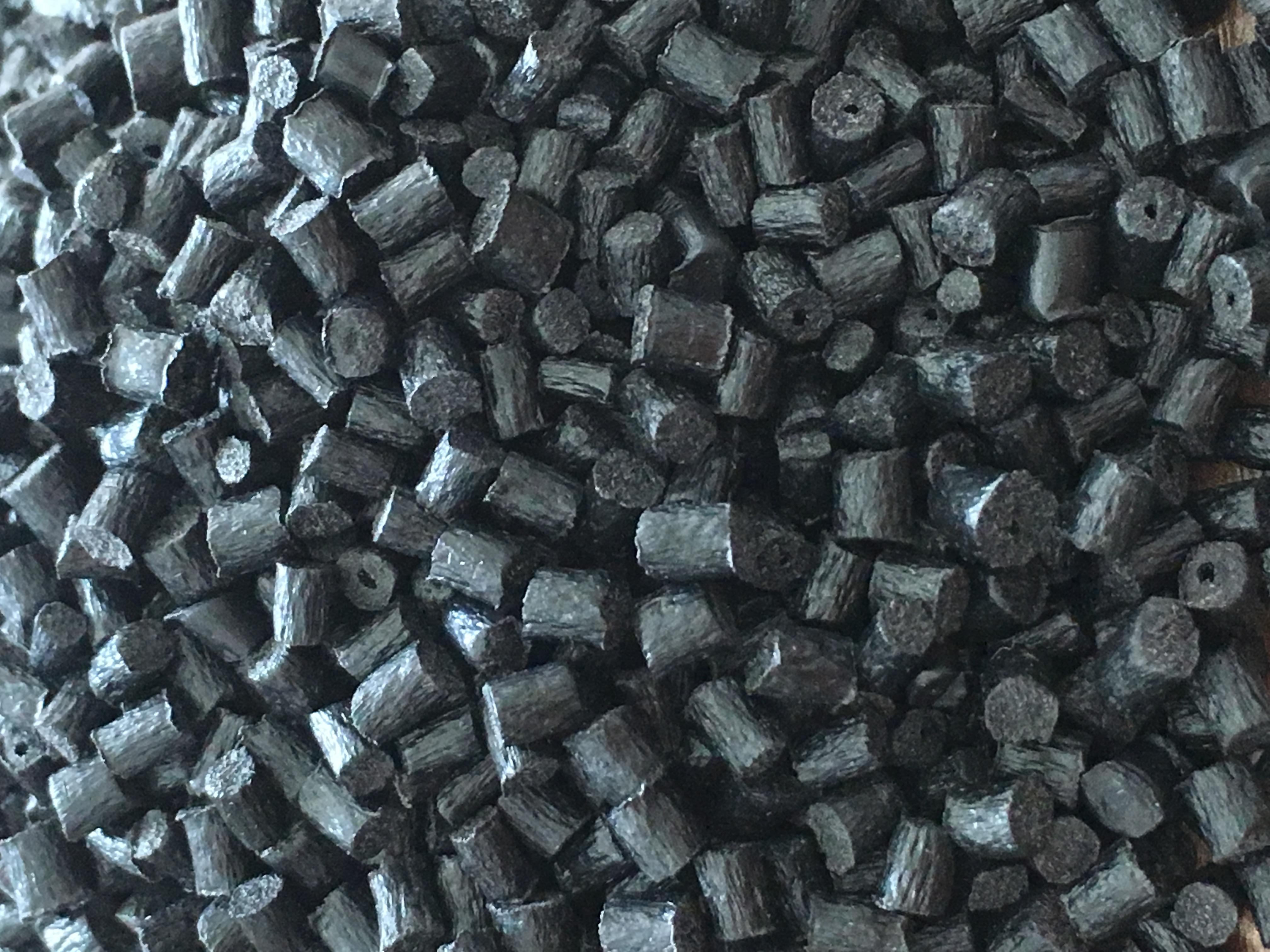 PA6黑色环保再生料/尼龙黑色环保抽粒料