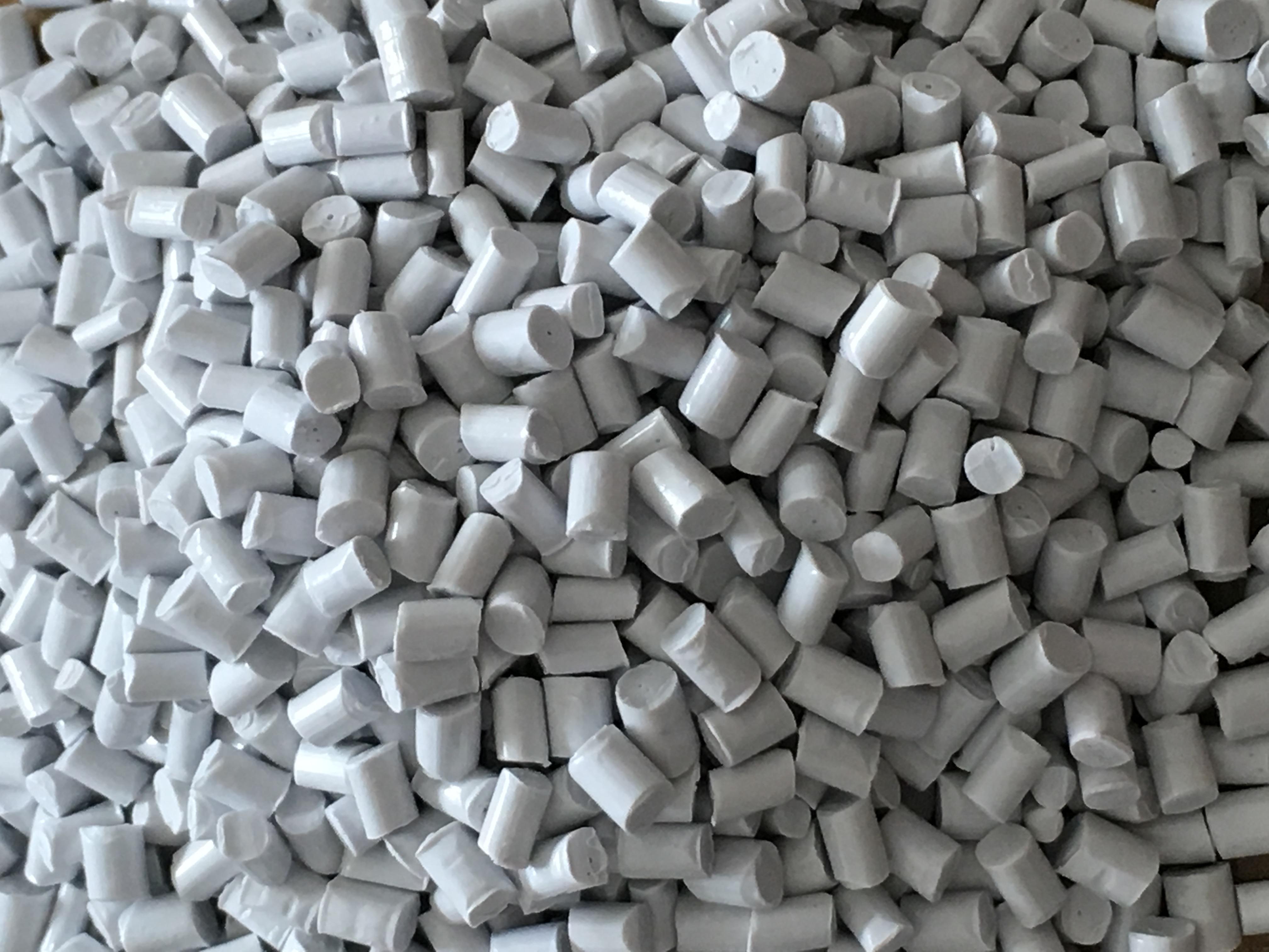 ABS瓷白环保阻燃再生料 ABS瓷白环保防火抽粒料