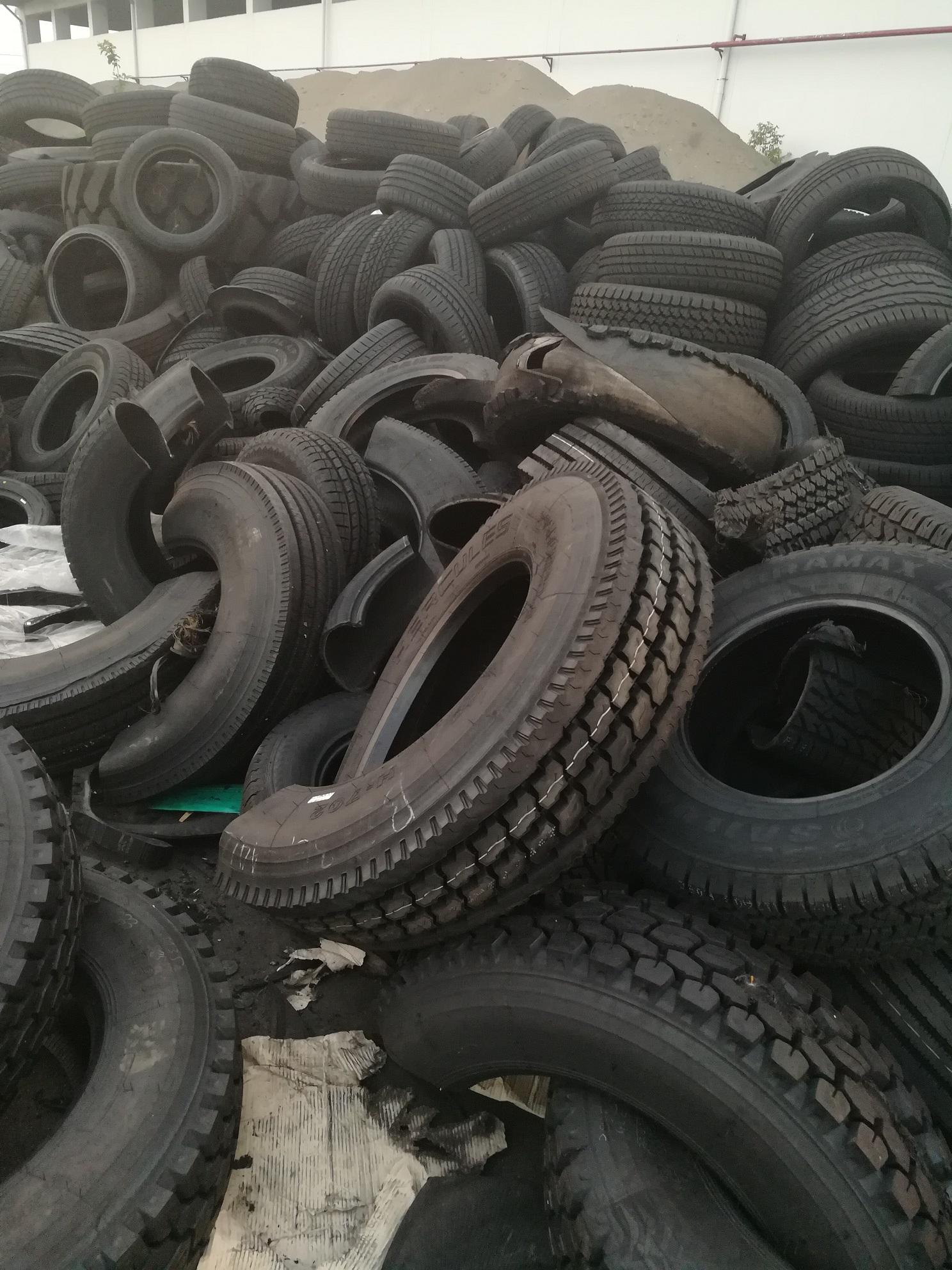 出售橡胶、轮胎、塑料