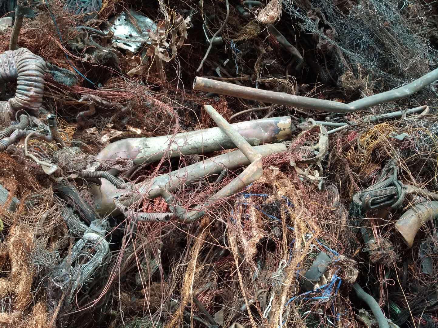 长期供应废紫铜、机械铜